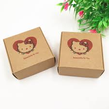 online get cheap paper corrugated box com alibaba group shipping 200pcs lot brown corrugated box for christmas favor gift candle candy packing paper