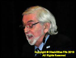 Mr Jack Carr from Disabilities Fife. Speaking on Disabilities Fife`s Vison for the - DSCN2274bb