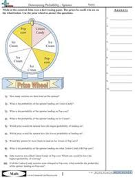 Worksheets and Ideas on PinterestProbability Worksheets- with links to other Common Core Based math practice sheets