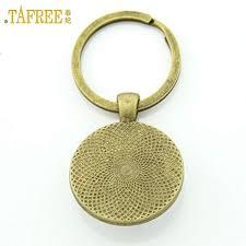 Trendy Fashion Keychain <b>Mystery Blue Eye</b> Art Picture Key Ring ...