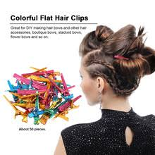 Красочные <b>зажимы для волос</b> стальные плоские зубцы ...