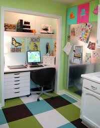 paula prass laid solid color flor carpet tiles in a plaid pattern over ugly linoleum carpet tiles home office carpets