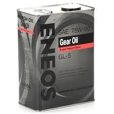 <b>Трансмиссионное масло ENEOS</b> 75W90 <b>GEAR</b> GL-5, 4 л, цена ...