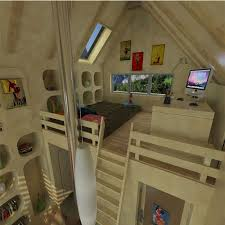 bedroom loft tiny houses