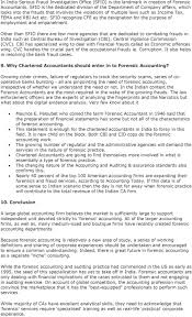 forensic accounting table of contents pdf sfio recognize cfe as the designation for the purpose of employment and empanelment