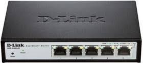 <b>Коммутатор D-Link DGS</b>-<b>1100-05</b>/<b>B1A</b> 5G настраиваемый | купить ...