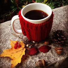 Image result for Leaves changing and a cup of coffee