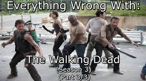 Everything Wrong With The Walking Dead Season 3 Part 3 3.