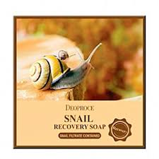 <b>Мыло для лица</b> Deoproce Snail Recovery <b>Soap</b> – купить в Москве ...