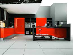 Red Tile Paint For Kitchens Gorgeous Red Kitchen Decor N Red Kitchen Decor In Red Kitchen