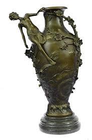 <b>Handmade</b> European Bronze Sculpture Art Deco <b>Nouveau Style</b> ...