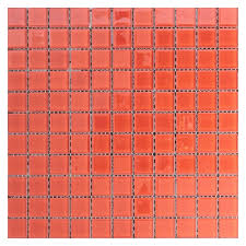 <b>Стеклянная мозаика Orro Mosaic</b> Cristal Red Rose 29,5х29,5 см