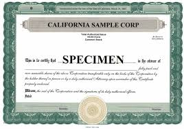 share stock certificate templates excel pdf formats