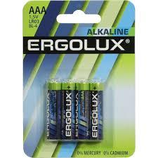 Батарейки <b>AAA Ergolux</b> LR03 BL-4 4 шт. — купить, цена и ...