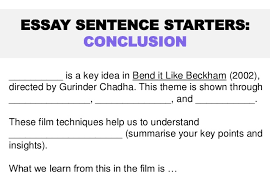 bend it like beckham theme essay taskessay sentence starters  paragraph             is a key idea in bend it like beckham