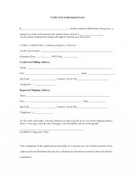 business templates credit card authorization form template it