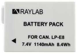 <b>Аккумулятор Raylab RL</b>-LPE8 1140мАч (для EOS 600D, 650D, 700D)
