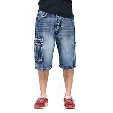Ruiatoo <b>Men's</b> Outdoor <b>Cargo</b> Multi-Pocket Denim <b>Jeans</b> Work ...