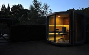 View In Gallery OfficePOD Prefab Office 5 OfficePOD The Prefab Home Office