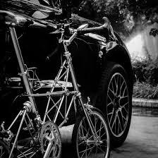 Moulton GT Mk3 and a Porsche Macan Bicycles Pinterest Porsche
