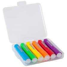 <b>Набор восковых мелков Bondibon</b> 6 цветов в пластиковой ...