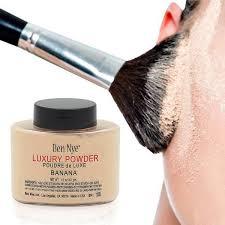Buy 1PC Woman <b>Luxury Banana Powder</b> 1.5Oz <b>Bottle</b> Face Makeup ...