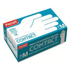 <b>Перчатки</b> PACLAN <b>латексные</b>, размер M, <b>100 шт</b>. — купить в ...