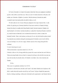 hamlet and gertrude essay  hamlet and gertrude essay