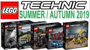 All LEGO Technic Sets <b>Summer Autumn 2019</b> - Lego Speed Build ...