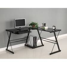endearing modern desks for home office construction with durable steel and thick tempered safety glass along excellent home office design decoration beauteous modern home office interior ideas