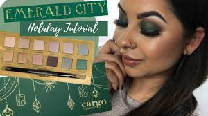 Holiday Makeup Tutorial | <b>Cargo Cosmetics</b> Holiday Collection ...