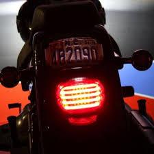 <b>Motorcycle LED Taillights LED Brake Lights</b> - <b>Custom</b> Dynamics