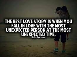 Unexpected Love Quotes. QuotesGram via Relatably.com