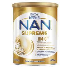 Купить <b>Смесь</b> сухая <b>молочная NAN Supreme</b> на основе частично ...