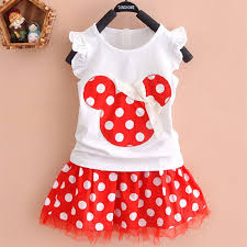 girls dress mickey minnie summer children clothing sets fashion dress girls sleeveless dress child baby clothes princess dress baby girl dress designs
