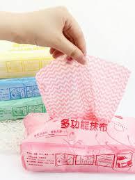 Buy 80Pcs Disposable Cloth Versatile <b>Kitchen</b> Essential Cleaning ...
