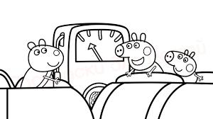 <b>Свинка Пеппа</b> Видео <b>Раскраска</b> для детей - YouTube