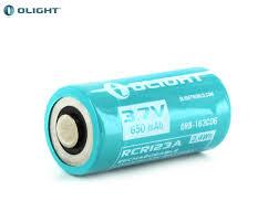 <b>Аккумулятор Li-ion Olight ORB-163C06</b> 16340 3,7 В. 650 mAh ...