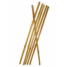 <b>опора для растений</b> прямая 180см бамбук в пластике | shkolnie ...