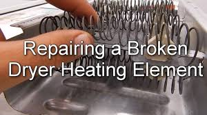 Ge Electric Dryer Heating Element How To Repair A Broken Dryer Heating Element Youtube