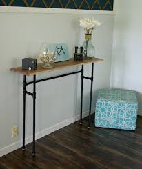 how to build a rustic table using galvanized pipes build rustic office desk