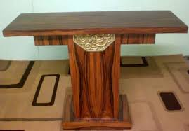 superbly classic art deco style rosewood console art deco style rosewood