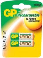 GP Rechargeable 2xAA <b>1800</b> mAh – купить <b>аккумулятор</b> ...