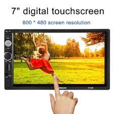 7 inch <b>Universal 2 Din HD</b> Bluetooth Car Radio MP5 Player ...