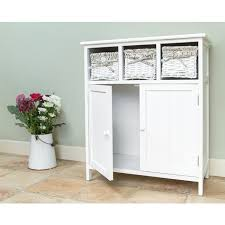 white storage unit wicker: white wicker storage cupboard  white unit ls white wicker storage cupboard
