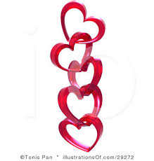 Image result for clipart free hearts