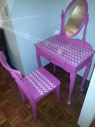 refurbished chevron pink vanity astonishing pinterest refurbished furniture photo