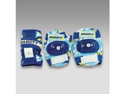 Купить <b>защиту роликовую MaxCity</b> Teddy р. (S), синяя по цене от ...