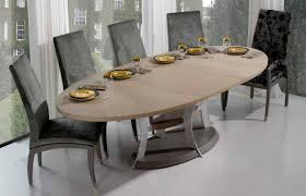 wooden dining chairs oval table