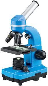 <b>Микроскоп Bresser Junior Biolux</b> SEL 40–1600x, синий по цене 12 ...
